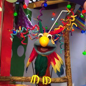 <b>Mister Maker</b><br />Scrappz as Parrot